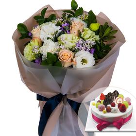 꽃다발+케잌 a5101