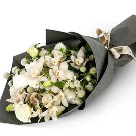 백합소국꽃다발 b8588