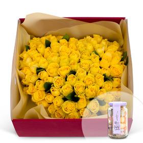 꽃상자+사탕 125