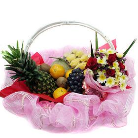 과일꽃바구니 w1813